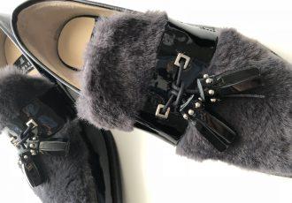 冬→春へ靴も衣替え+靴下コーディネイト